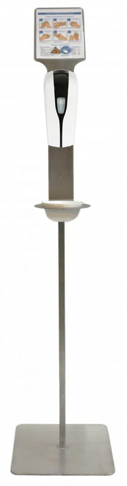 Hygienesäule - Automatik (Markenlos)