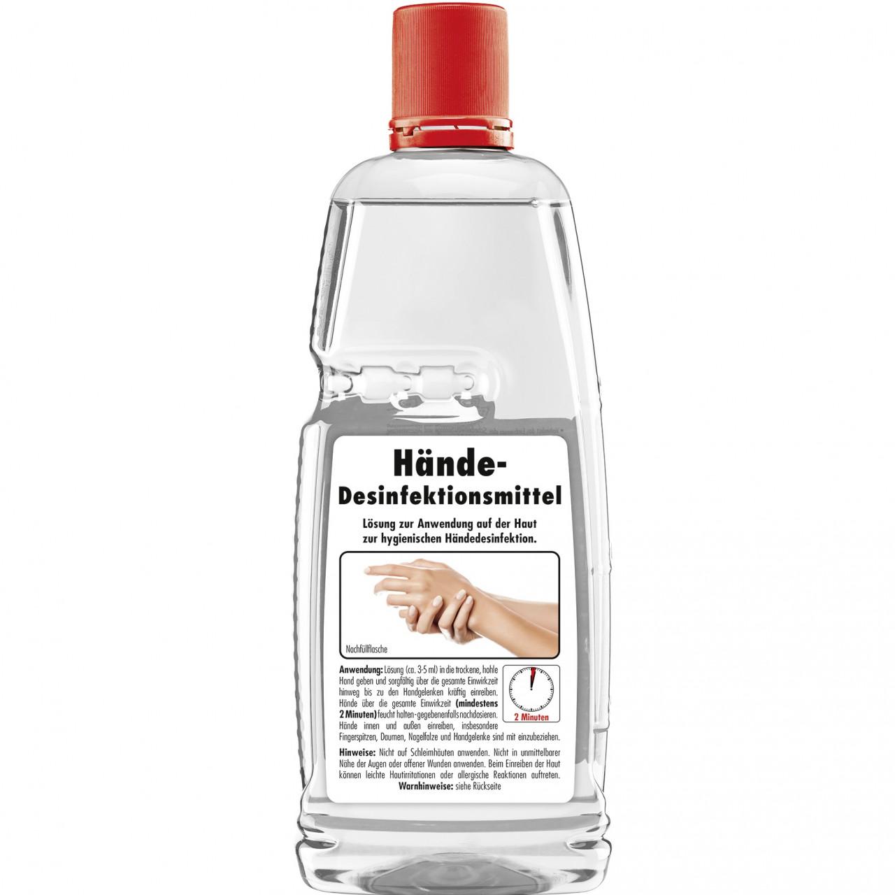 Hand-Desinfektionsmittel 1L-Flasche - SONAX®